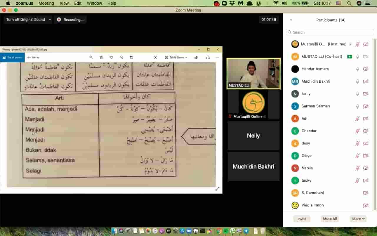 kursus bahasa arab online di tengah pandemi